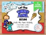 Let the Games Begin! MEGA BUNDLE - 12 Rhythmic & Melodic Practice Games!