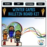 Let the Games Begin! Winter Olympics 2018 Bulletin Board Kit
