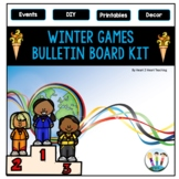 Winter Games 2018 Bulletin Board Kit for PyeongChang
