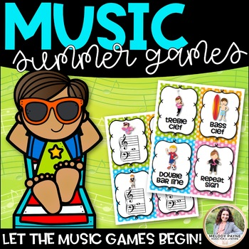 Let the Music Games Begin! Summer Games for Elementary Students