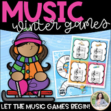 Let the Music Games Begin! Winter Games for Elementary Students