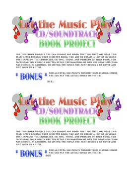Let the Music Play: CD Book Report
