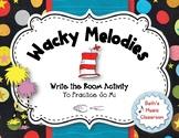 Wacky Melodies, Write the Room, So-Mi