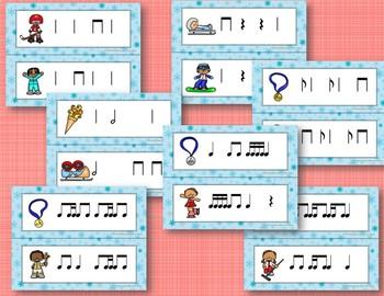 Let the Winter Games Begin! Rhythm Write the Room, BUNDLE 7 Games!