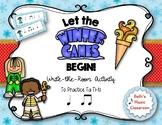 Let the Winter Games Begin! Rhythm Olympics Write the Room, Ta ti-ti
