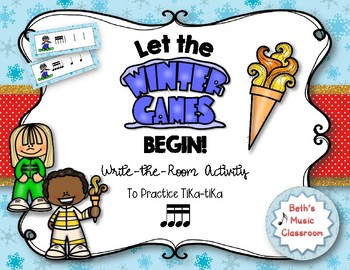 Let the Winter Games Begin! Rhythm Write the Room, Tika-tika