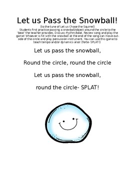 Let us Chase the Snowball Game