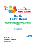 Let'z Read -Dyslexia  phonic skills (IRLA level Yellow-1 G)