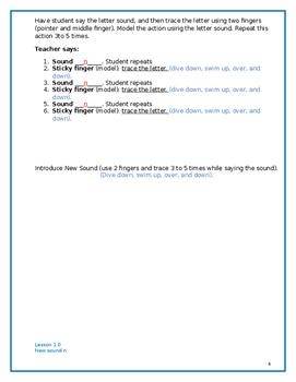 Let'z Read -Dyslexia Lesson 1 Letter Sound n