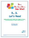 Let'z Read -Dyslexia Lesson 3 Letter Sound p