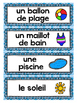 Lété'! 8 activités d'étude de mots/8 word work activities