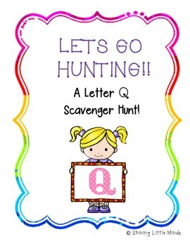 Leter Q Scavenger Hunt