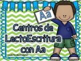 Letra A Centros LectoEscritura