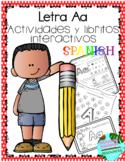 Letra A la vocal- Actividades y libritos