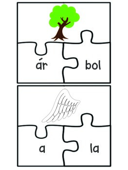 Letra A puzzles