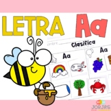 Letra Aa - Letter A Spanish