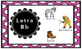 Letra B Index Card Puzzles