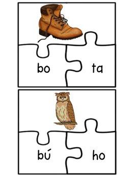 Letra B Puzzles
