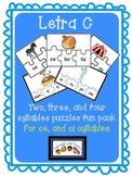 Letra C (for ce ci) Puzzles
