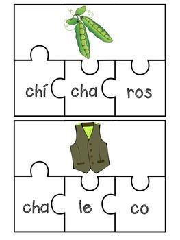 Letra Ch Puzzles