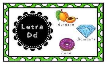 Letra D Index Card Puzzles