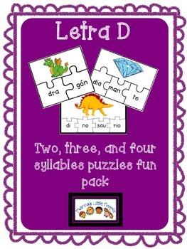 Letra D Puzzles