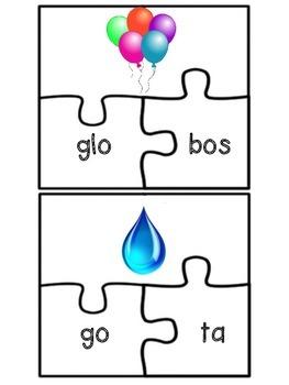 Letra G Puzzles