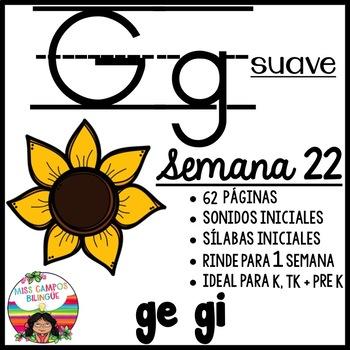 Letra G g Suave ( ge, gi ) BUNDLE