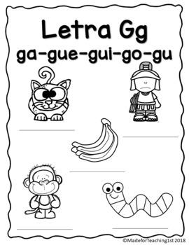 Letra Gg