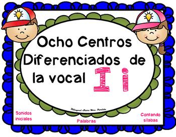 Letra I Centros LectoEscritura vocal I i