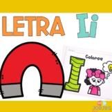 Letra Ii - Letter I Spanish