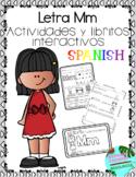 Letra M la consonante- actividades y libritos