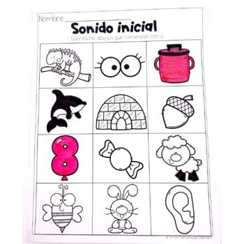 Letra O - Letter O Spanish