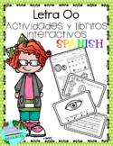 Letra O la vocal- Actividades y libritos