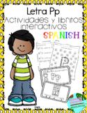 Letra Pp la consonante- actividades y libritos