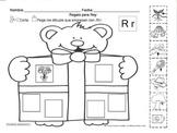Letra Rr set of Initial sound Worksheets SLA