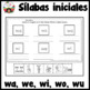 Letra W Silabas WA WE WI WO WU
