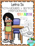 Letra Ss la consonante- actividades y libritos
