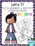 Letra Tt la consonante- actividades y libritos