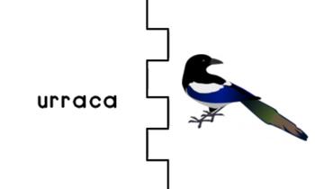 Letra U Index Cards Vocabulary Puzzles (Rompecabezas)