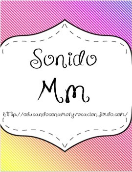Letra/Sonido Mm en Español