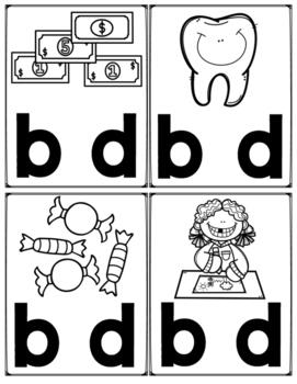 Letras B y D en Español