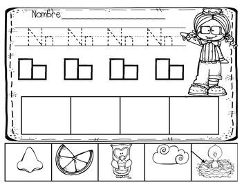 Letras Con Dibujos En Español
