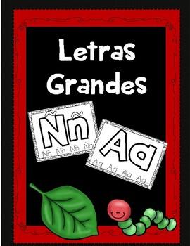 Letras Grandes del Alfabeto