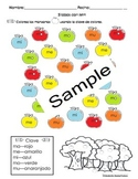 Letras Silabas-Clave de Colores Bundle Pack (21 Spanish pgs)