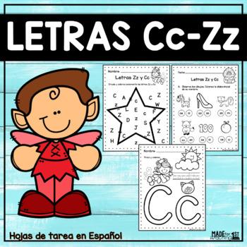 Letras Zz-Cc