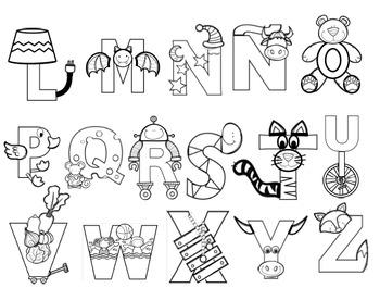 Yo puedo identificar letras y sonidos - Letras artísticas