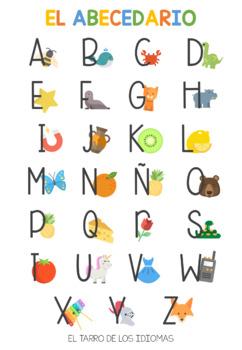 Vocales abecedario español / Vowels alphabet Spanish FREE sample + ...