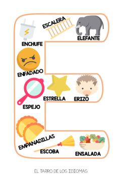Letras de abecedario español / Letters alphabet Spanish FULL + POSTER