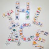 Letras de abecedario español / Letters alphabet Spanish FU